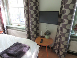 Beide kamers hebben tv.