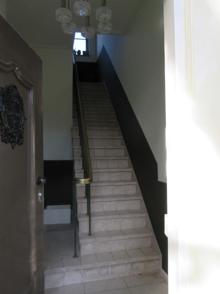 De B&B is gelegen op de 1e verdieping.